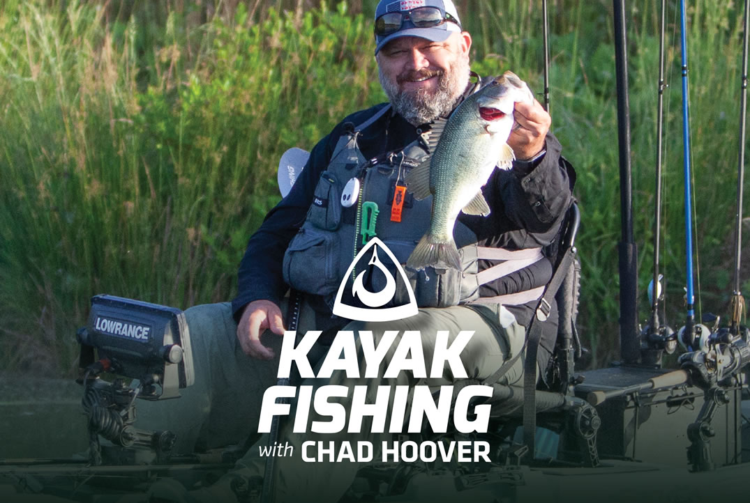 Kayak Fishing with Chad Hoover