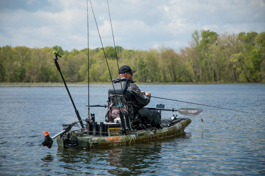 Chad fishing Kentucky Lake, TN