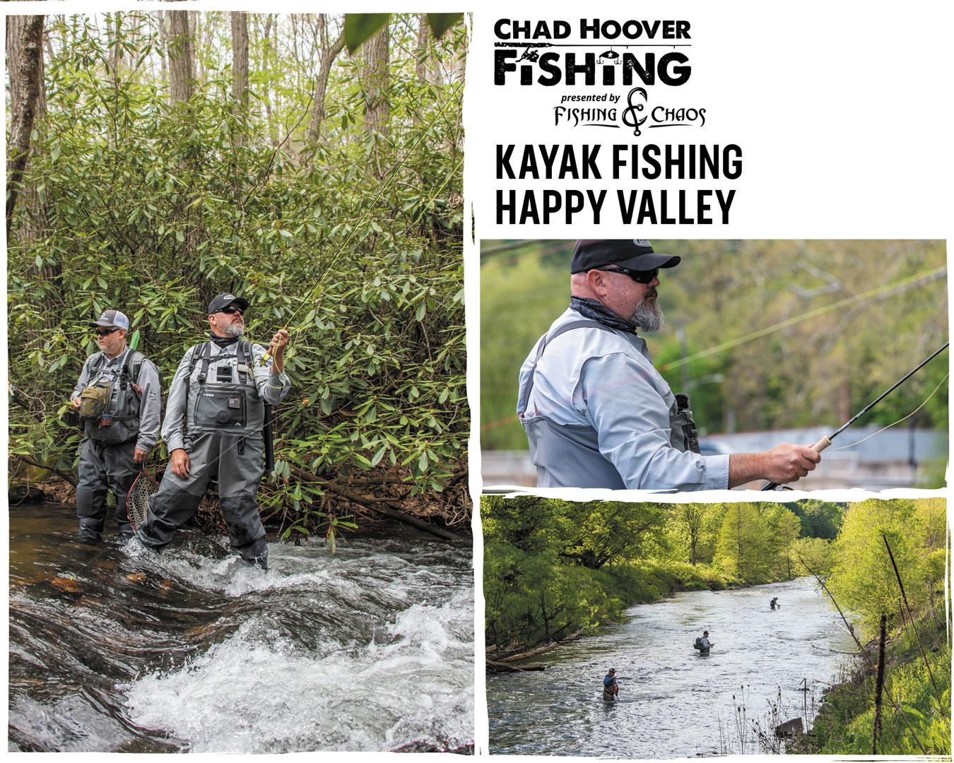 Chad Hoover Fishing Season 10, Episode 9: Kayak Fishing ...